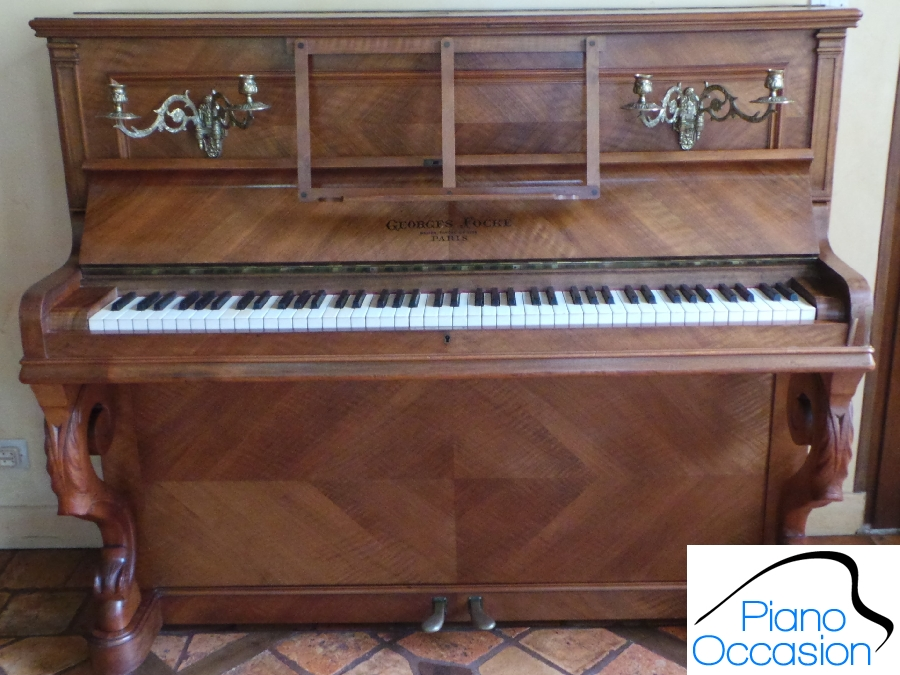 piano droit georges fock piano occasion. Black Bedroom Furniture Sets. Home Design Ideas