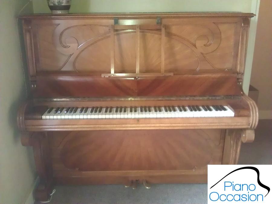 piano droit gaveau de 1909 en tr s bon tat piano occasion. Black Bedroom Furniture Sets. Home Design Ideas