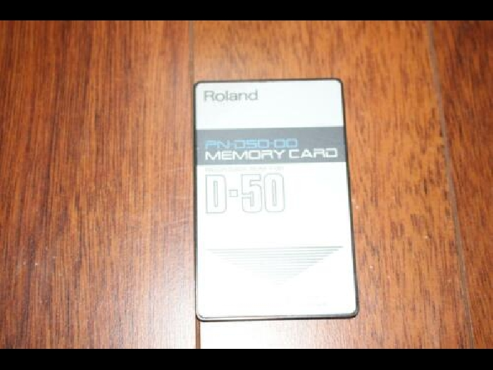 Roland D-50 / D-550 Memory Card in excellent condition. PN-D50-00