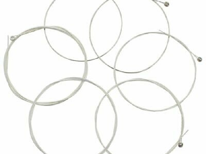 Acoustic Folk Guitar Strings A111 Stainless Steel Silver-Plated String~