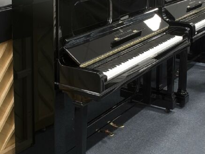 Steinway & Sons Piano D'Occasion, K-132, Tout Neuf, Video