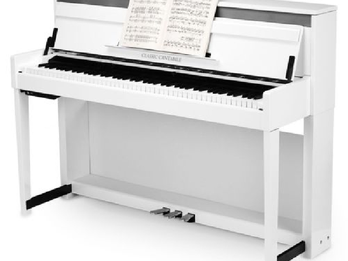 piano numerique clavier digital droits 88 touches 3 pedales 256 polyphonie blanc piano occasion. Black Bedroom Furniture Sets. Home Design Ideas
