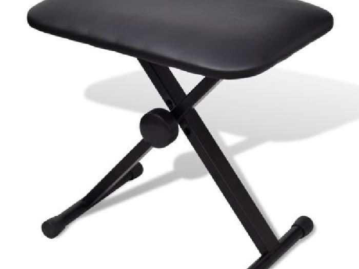 tabouret pour clavier r glable si ge en x pour clavier piano pliable concert piano occasion. Black Bedroom Furniture Sets. Home Design Ideas