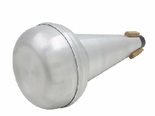 1Pc Light-Weight Practice Trombone Straight Mute Silencer Aluminium Sil DY
