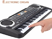 61 Keys Electronic Piano Keyboard With Microphone Children Musical Instrument EI