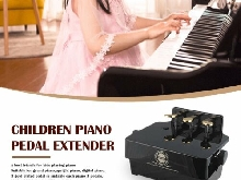 PA-23 Adjustable Piano Pedal Extender Bench Assistant Lifting Children Kid FM?