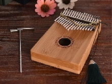 Thumb piano Kalimba 17-tone finger piano kalimba beginner portable QC