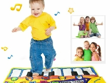 Kid Educational Musical Toys Musical Piano Play Mat with Lovely Animal Patte J?%