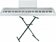 Pack Korg B1 blanc - Piano numérique 88 notes + Stand en X