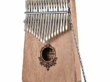 17 Key Kalimba Thumb Piano Pocket Size Finger Piano Wooden Musical Instru I6?