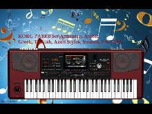 KORG PA1000 Set Armenian, Arabic, Greek, Turkish, Azeri Styles, Sounds, PAD