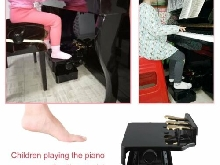 PA-23 Adjustable Piano Pedal Extender Bench Assistant Lifting pour ChildrDY