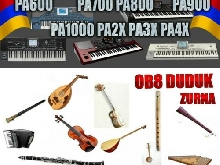 KORG PA Set Armenian, Arabic, Greek, Turkish,  Styles, Sounds, PAD HD
