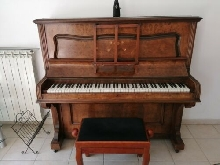Piano droit 1908 Philip Cohen & Co Ltd London touches en ivoire très bon état.