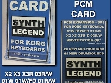 KORG PCM Sound Card for 01W 01W/FD / 01R/W / 03R/W / X2 / X3 / X3R / WS-SR Rare!