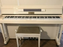 Piano GEORGES BLONDEL beige excellente mécanique
