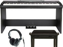 Piano Clavier Thomann DP-26 Digital Piano Bundle MIDI