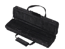 Muslady 16 Holes C Flute Case Gig Bag Backpack Box Water-resistant 600D O1T5
