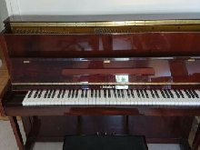 VENTE PIANO SHAEFFER 115 TRADITION ACAJOU BRILLANT, BON ETAT IDEAL APPRENTISSAGE