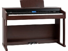 Piano Numerique Clavier E-Piano 88 Touches a Marteau USB MIDI 360 Sons Mp3 Brun
