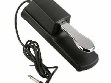 Damper Sustain Pedal Foot Switch  Piano Keyboards Sustain Foot Pedal?1AB
