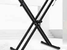 X-Style Keyboard Stand Double Braced Electric Organ Holder Hauteur réglable