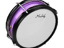 Muslady 8inch Snare Drum Head with Drumsticks Shoulder Strap Drum Key for O8F1