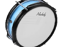Muslady 8inch Snare Drum Head with Drumsticks Shoulder Strap Drum Key for A4R9