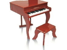 Piano a queue enfant rouge delson 30