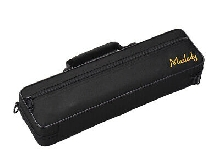 Muslady 16 Holes C Flute Case Gig Bag Backpack Box Water-resistant 600D X7X9