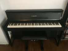 Piano Yamaha Clavinova CLP S 406 + Banquette Stagg Cuir