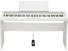 Pack Korg B2 blanc - Piano numérique 88 notes + Stand Korg