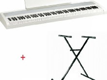 Pack Korg B2 blanc - Piano numérique 88 notes + Stand en X