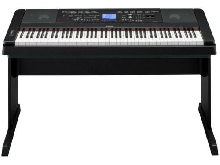 Yamaha pianoforte digitale DGX660B tasti 88