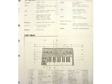 SH-101 Service Notes,Parts,Synthesizer, Vintage,Synth