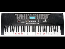 Clavier Numerique Piano Digital Arrangeur Synthetiseur 61 Touches Ilumineux MP3