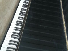Piano droit ancien, Wilh Steinberg, Made In Germany