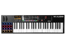 M-AUDIO KMD CODE49-BK - clavier maitre usb midi 49 notes 16 pads
