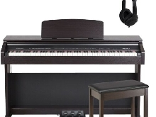 Medeli DP 250 RB Set Pianoforte Digitale / Panchetta / Cuffie