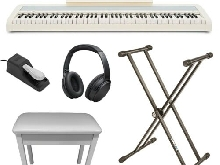 Korg B2 Bianco Home Set Pianoforte Digitale 88 Tasti con Accessori