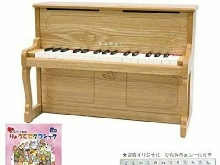 Kawai Mini Piano Vertical Piano Naturel 1154 32 Clés 42.5x20.5x30.4cm