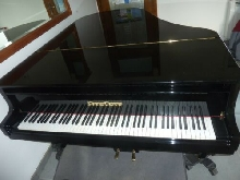 beau piano grand quart de queue Grotrian Steinweg 185 de 1973 clavier ivoire