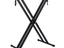 Support Piano Clavier Synthétiseur Pied Réglable EN X Piano Keyboard Stand