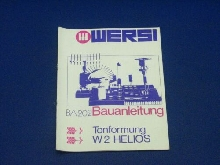 Wersi Instruction BA202 Tonformung W2 Helios