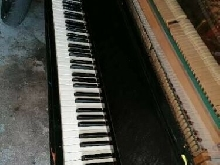 Piano rétro pianobar led leds instrument vintage piece rare piece unique