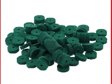 90pcs Lightweight Piano Washers Keyboard Tuning Felt Ring Pad Tool Green