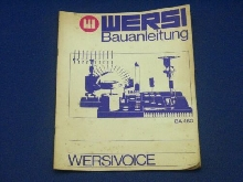 Wersi Concerto / Instruction Versivoice