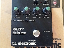 TC Electronic Parametric Equaliseur Sustain +