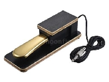 Universal Piano Sustain Pedal Keyboard Foot Damper Pedal 6.35mm Plug for N7A6